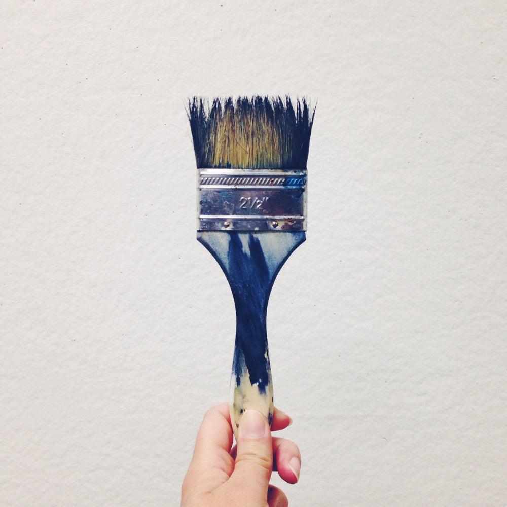 Image of Cyan brush
