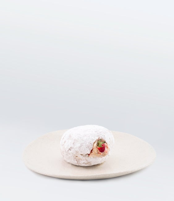 Image of Strawberry Cream Donut <br>(More Sizes Available)