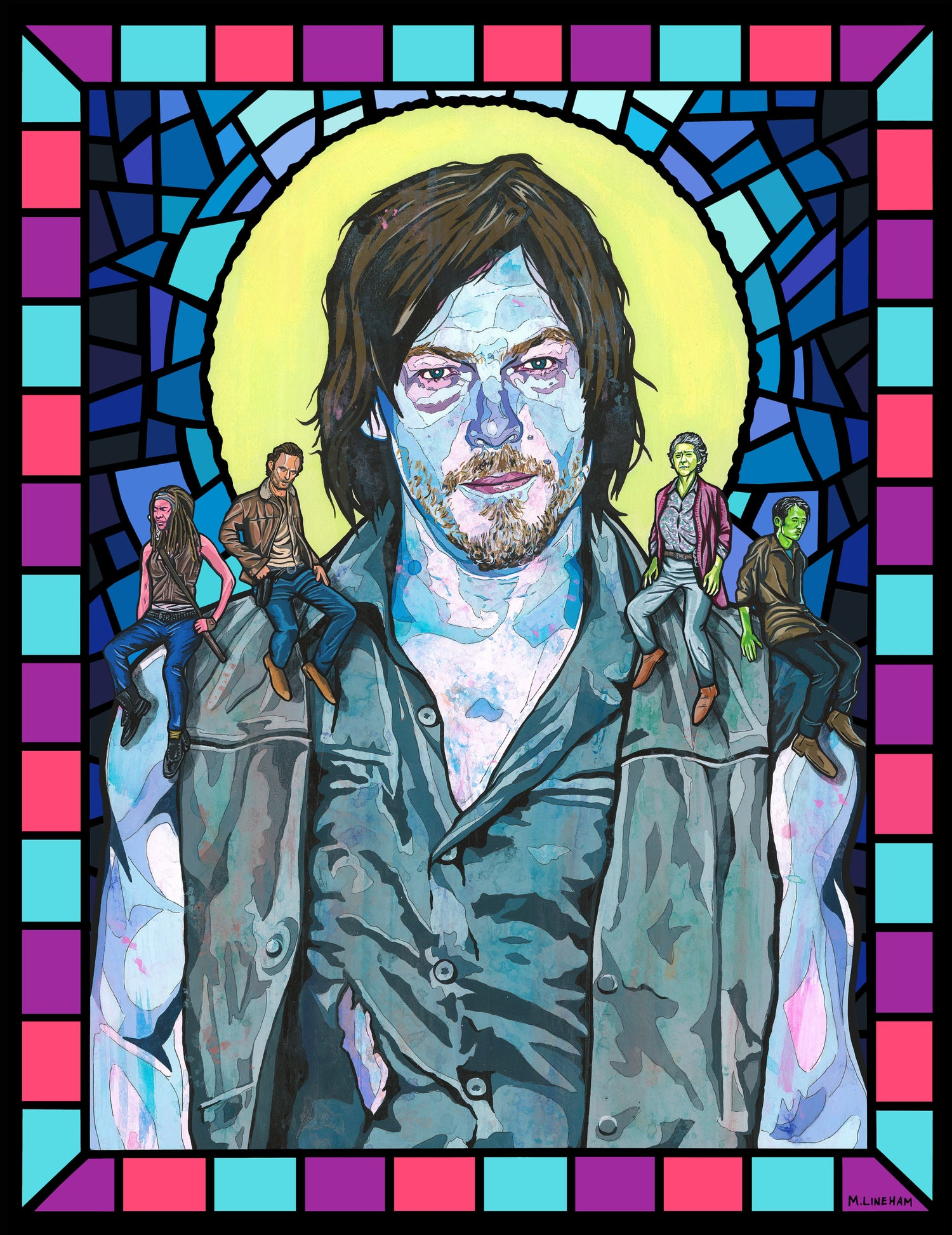 Image of Saint Daryl Dixon (The Walking Dead)