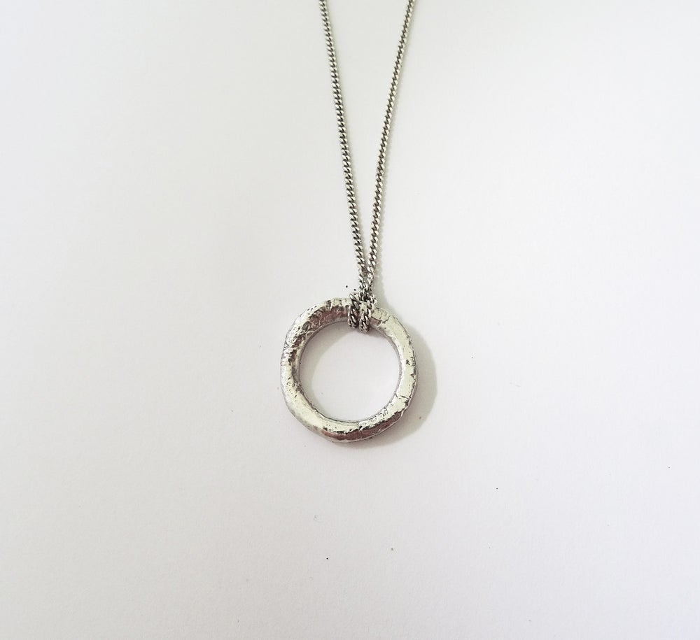 Chain Ring Necklace