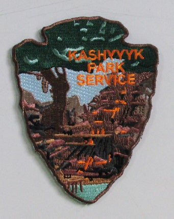 Image of Kashyyyk Park Service #10 Patch - Last in the Series