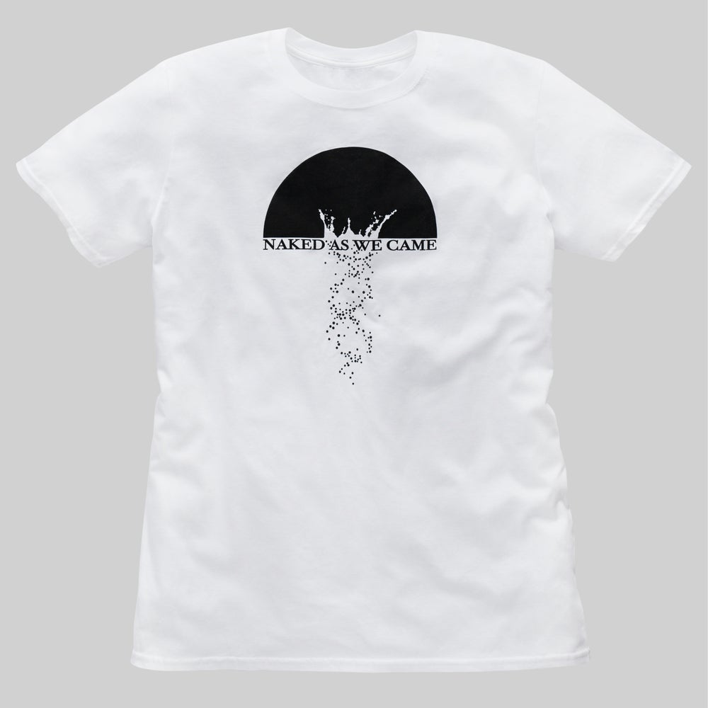 "Image of T-Shirt ""Naked As We Came"" - White"