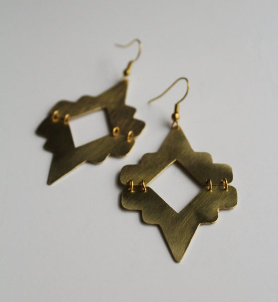 Image of Native 2 part earrings