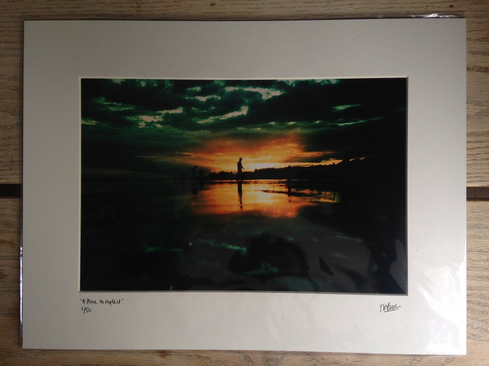 "Image of ""a place to reflect"" limited edition print"
