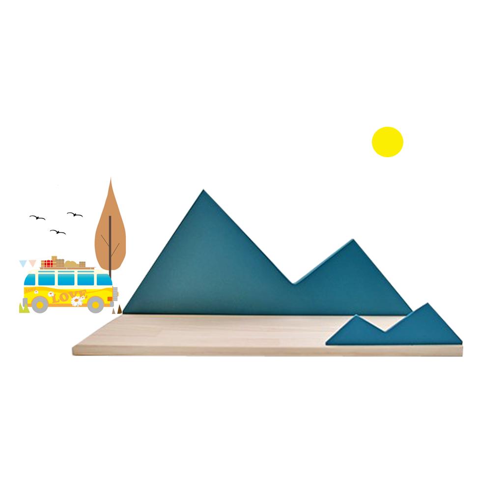 """Image of Estantería Infantil forma de montaña """"Mountain"""""""