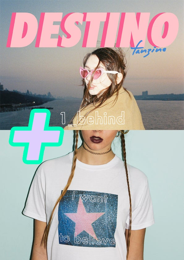 Image of ISSUE Nº1 BEHIND + LIMITED EDITION T-SHIRT