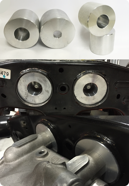 Image of Solid Nissan R35 Rear Differential Bushings