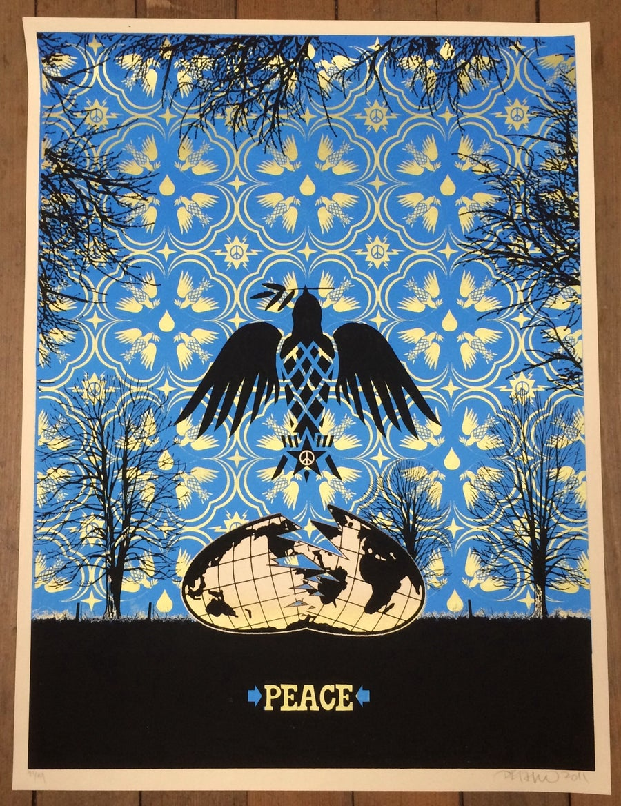 Image of Peace Dove Art Print