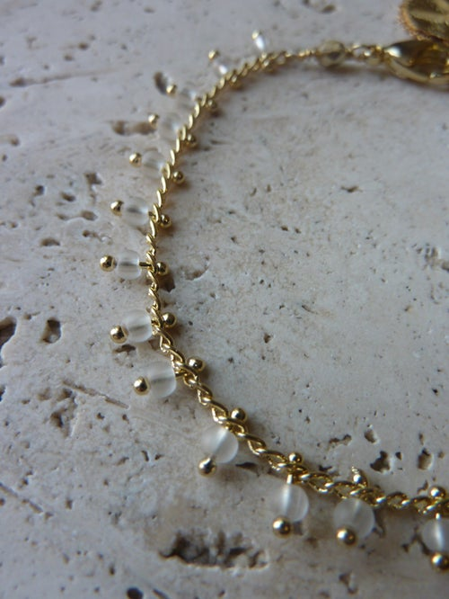 Image of Bracelet chaîne JAIPUR Noir -50%