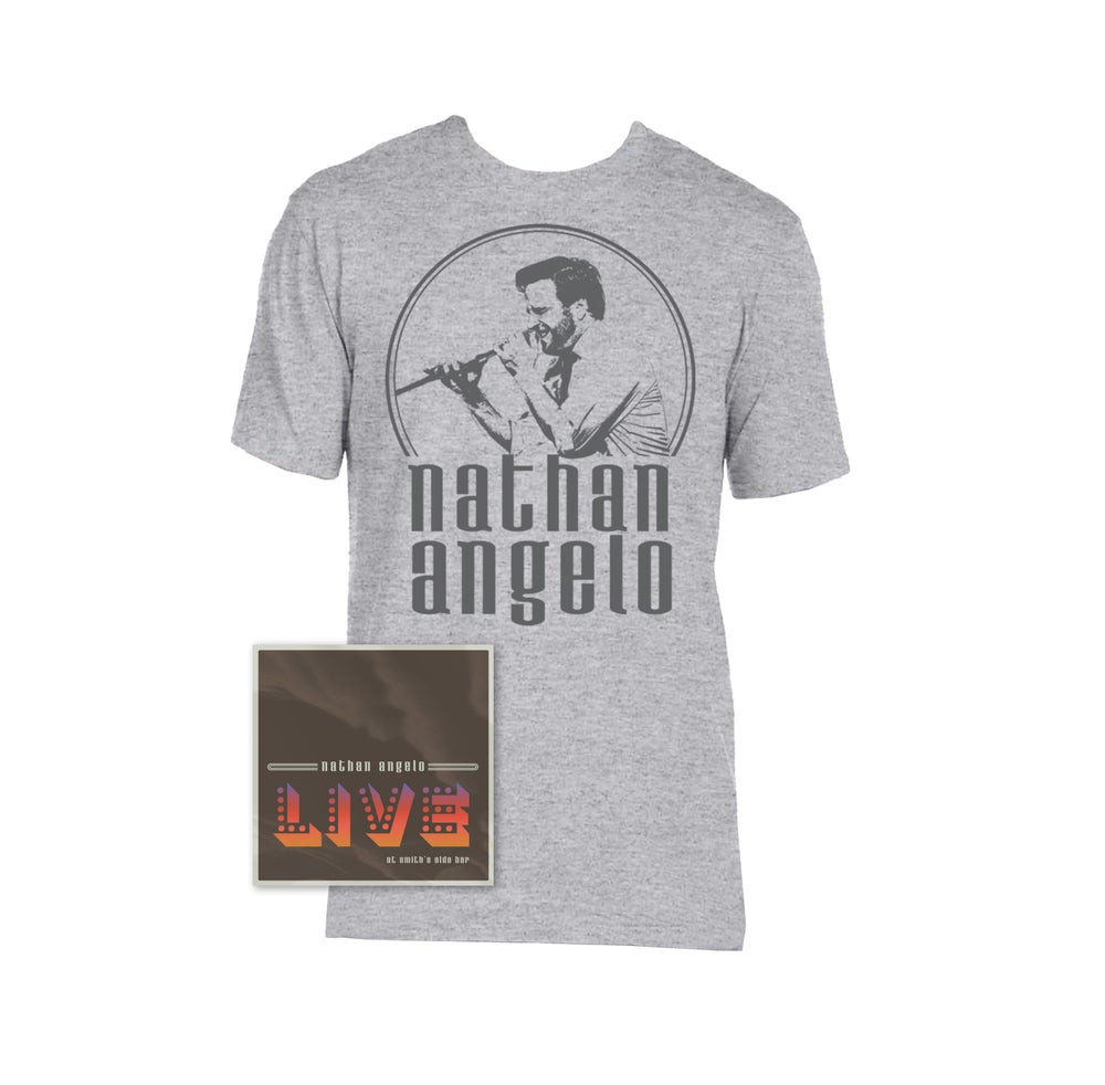 Image of Autographed CD + T-shirt