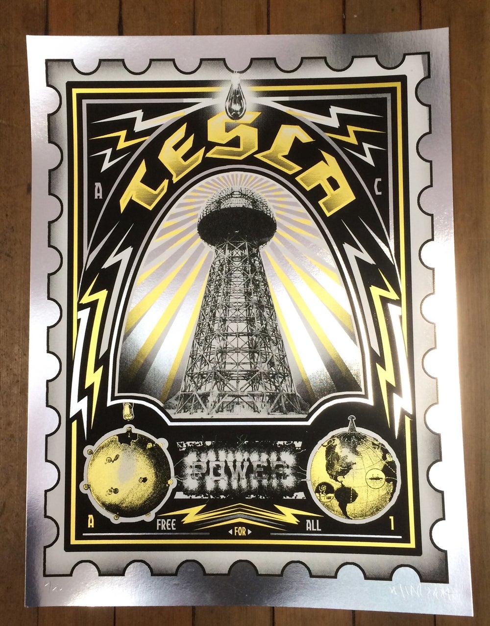 Image of Tesla Art Print