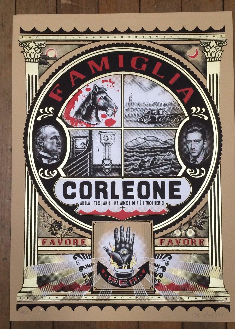 Image of Corleone Famiglia Art Print