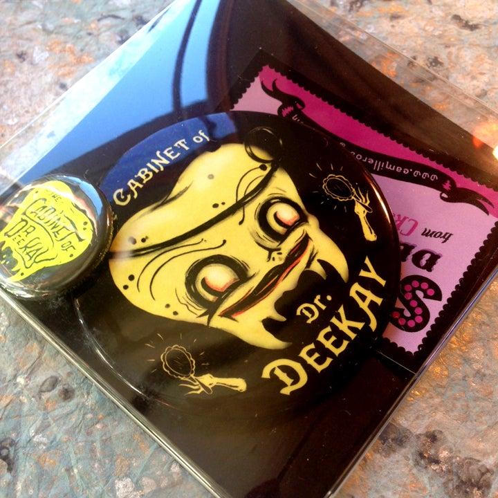 Image of Dr.Deekay Glowy Pocket Mirror
