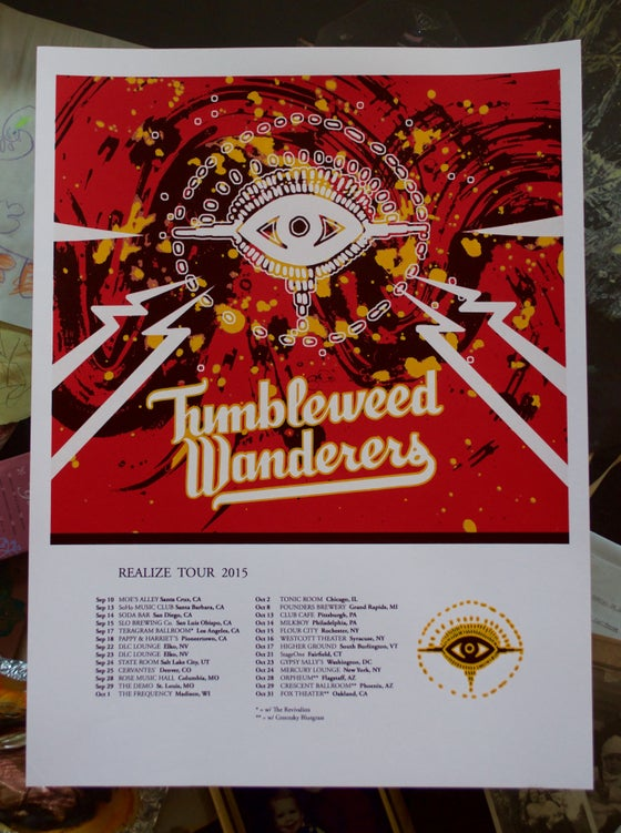 Image of Realize 2015 tour poster