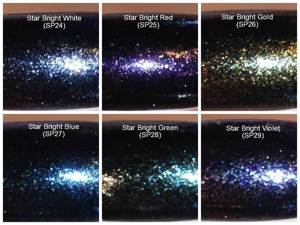 "Image of Sparks ""Star Bright"" Pigments </p> 6 Colors Available"