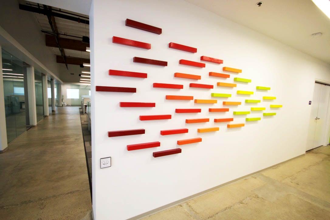 Large Custom Wall Sculpture Abstract Art Installation