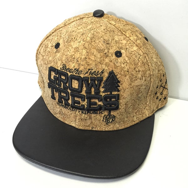"""Image of """"Grow Trees"""" Fitted Snapback Hat - 2 Styles"""
