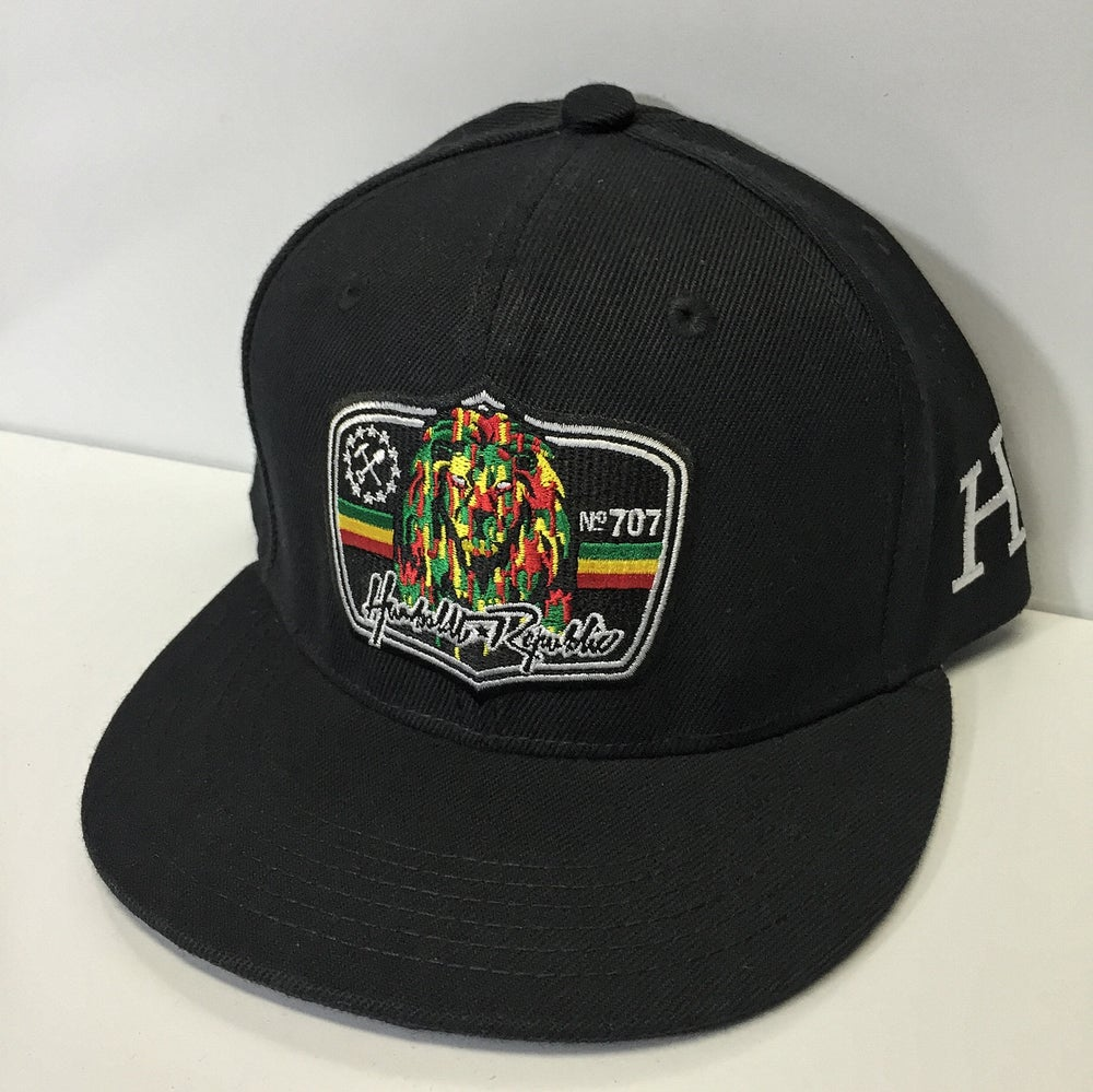 "Image of ""Royals"" Embroidered Snapback Hat"