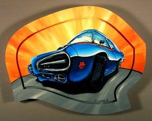 Image of GTO- Judge 8x10 Block Mounted Print