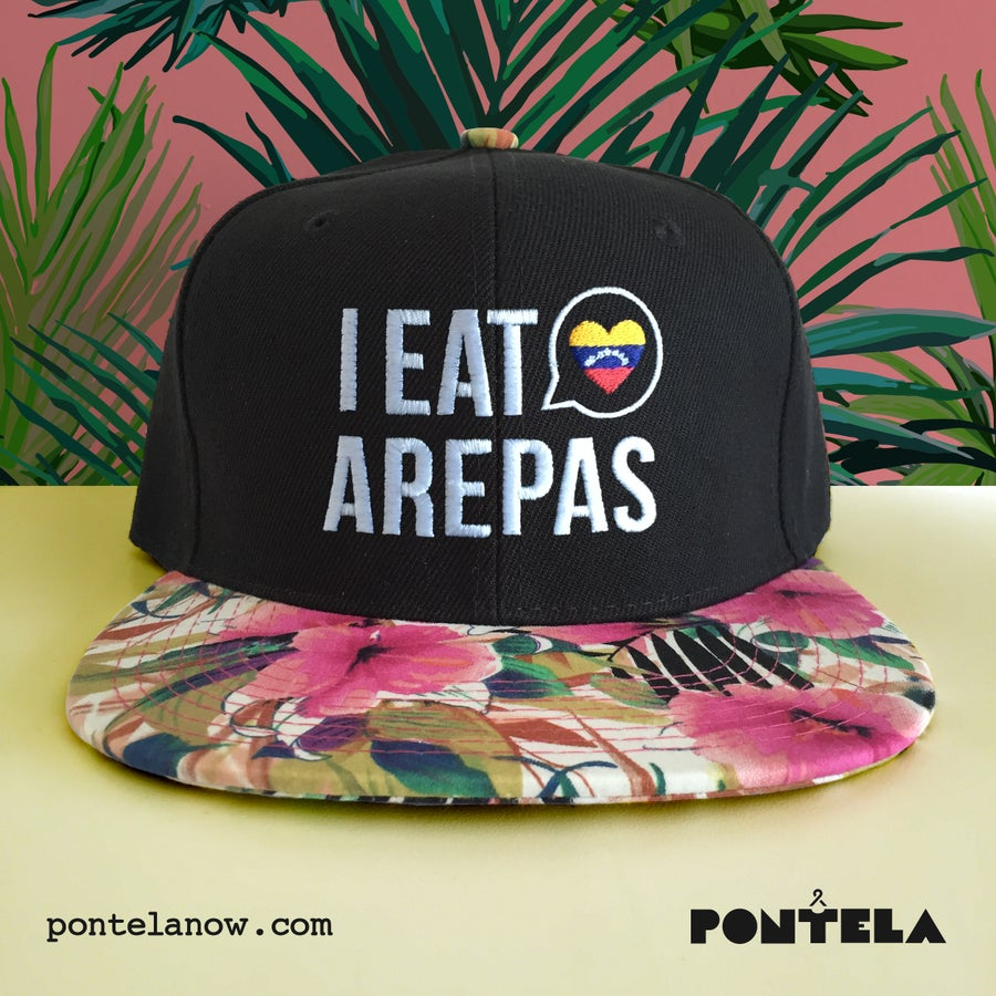 Image of I Eat Arepas Tropical Palms