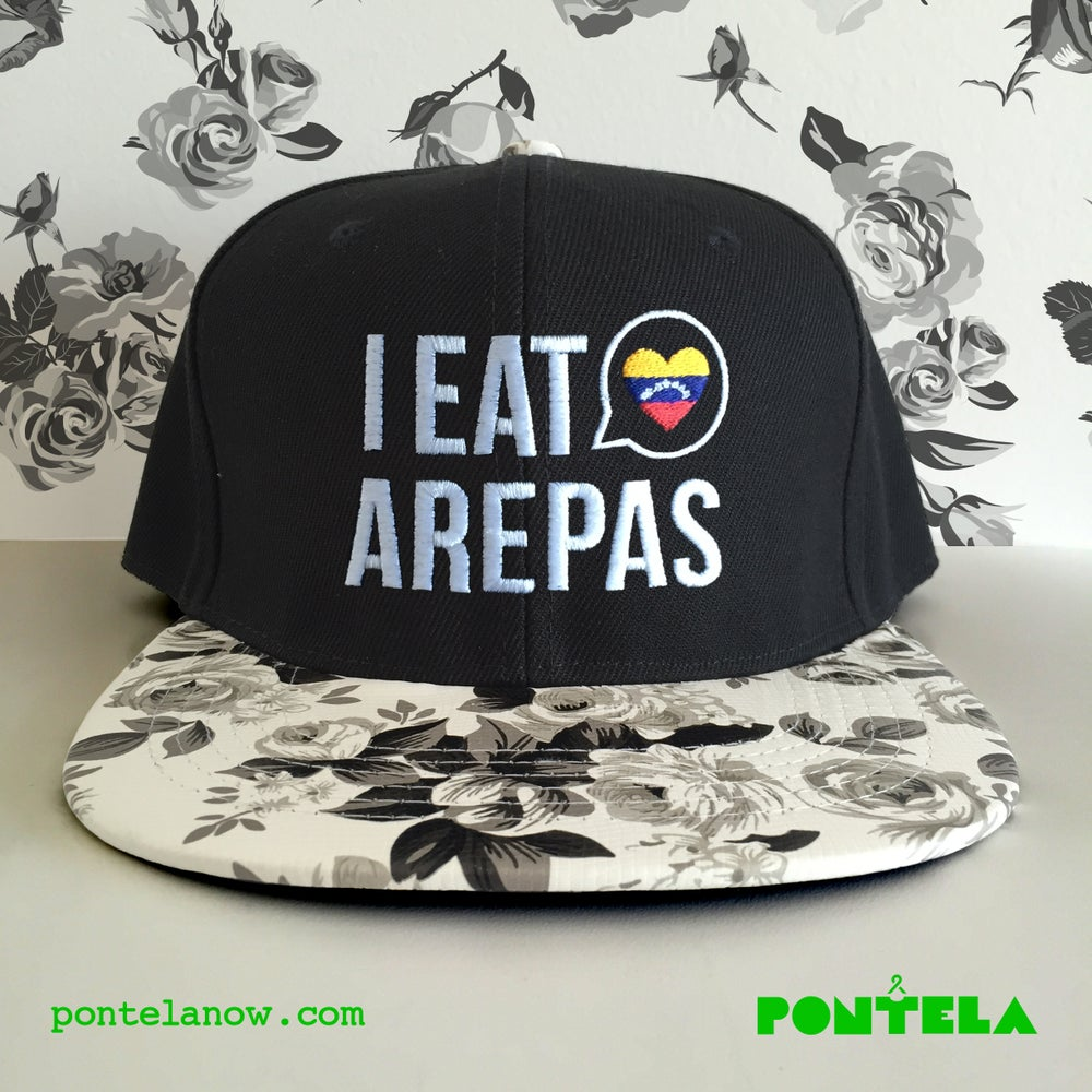 Image of I Eat Arepas Gray Roses