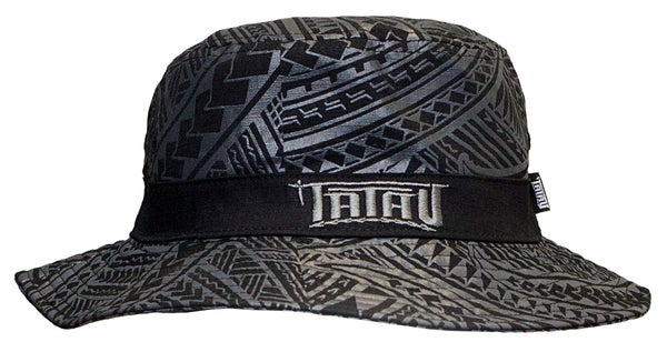Image of Tatau Black/Gray Bucket Hat