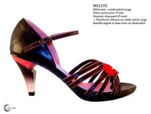 Image of MELETE Noir Rouge