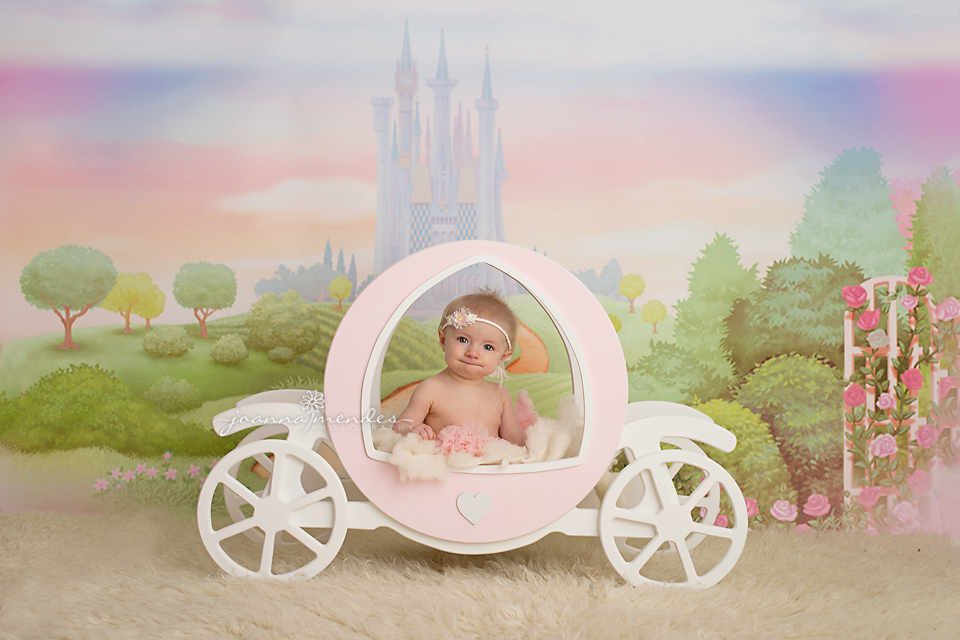 Tiny Dreams Wooden Princess Carriage Newborn Baby