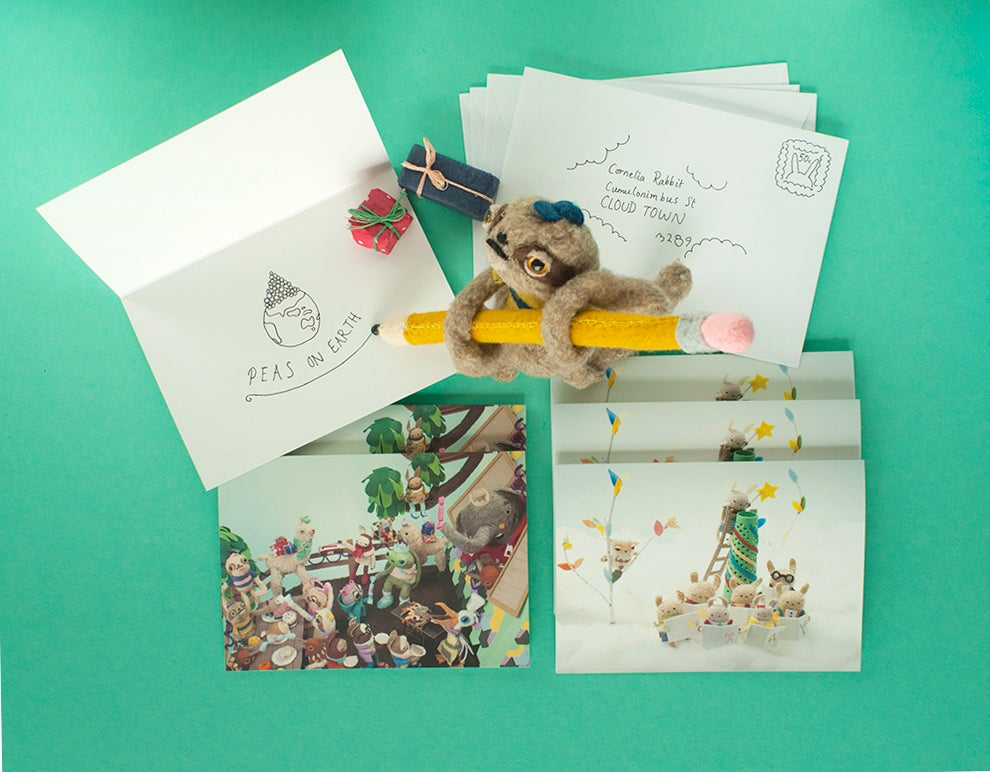 Image of Pack of Six Christmas Cards!