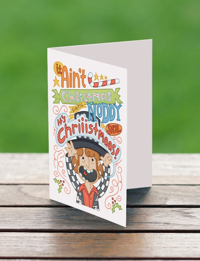Image of Noddy Holder A6 Christmas Card - Pack of 5