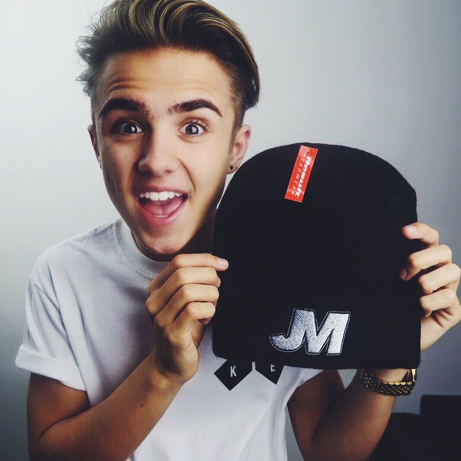 Image of Jake Mitchell Beanie. (LIMITED EDITION)