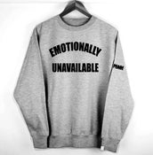 Image of 'EMOTIONALLY UNAVAILABLE'
