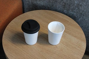Image of Two Therma cups (Black Lids)