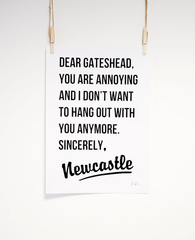 Image of Dear Gateshead