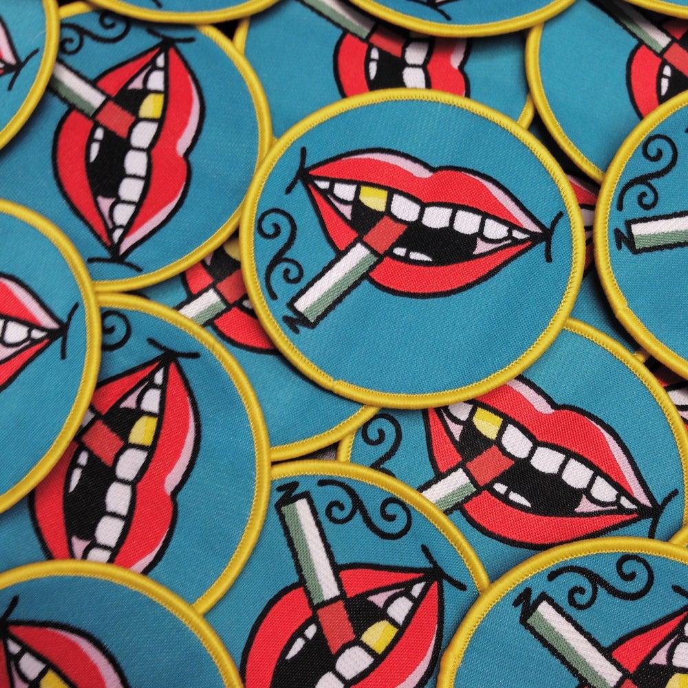 Image of Smoking lips patch