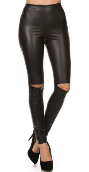 Image of Split Knee Leggings