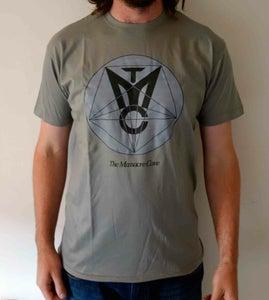 Image of The Massacre Cave Logo T-Shirt Grey