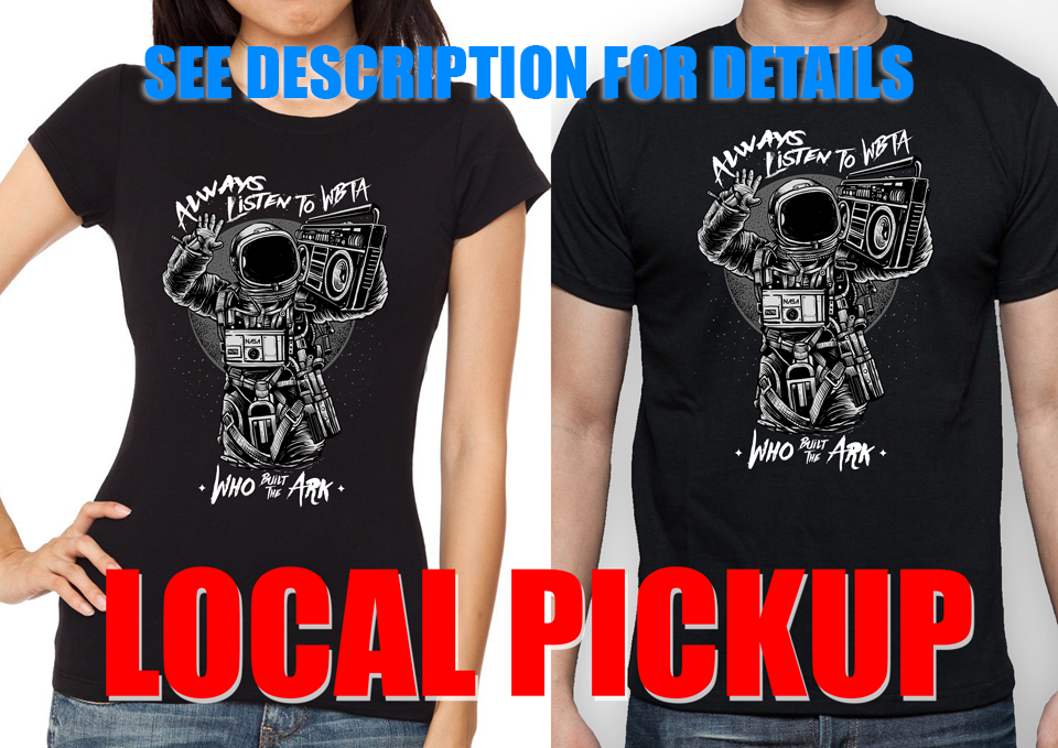 Image of Astronaut T Shirt LOCAL PICKUP