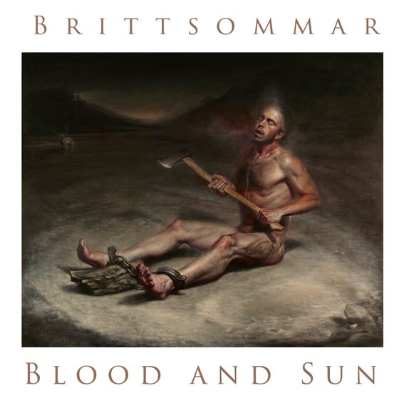 """Image of Brittsommar   Blood and Sun, Split 7"""""""