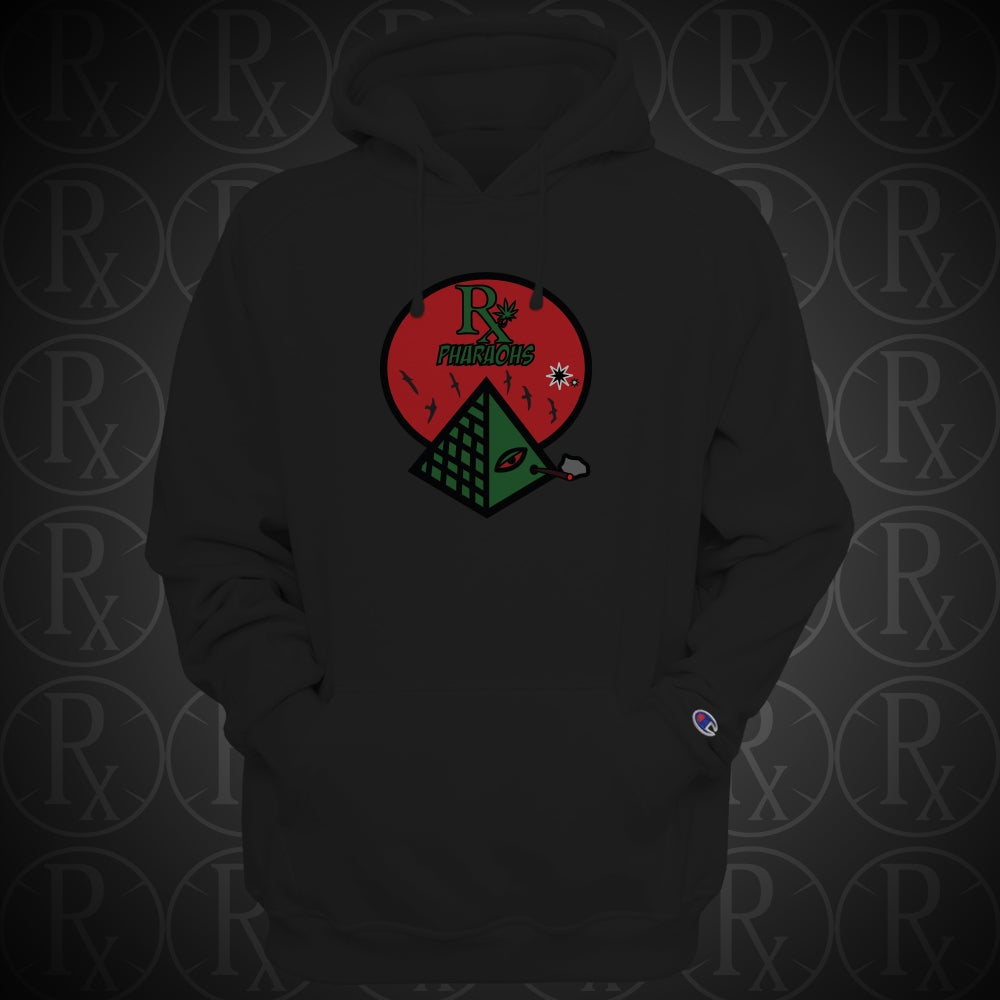 Image of Limited Edition Black Rx Pharaohs Hoodie