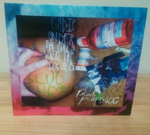 "Image of Slug † Christ ""God Is Under The Porch..."" Ltd. Edition CD."