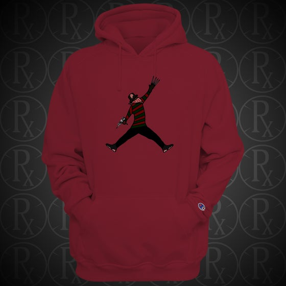Image of Limited Edition Red Air Kreuger Hoodie