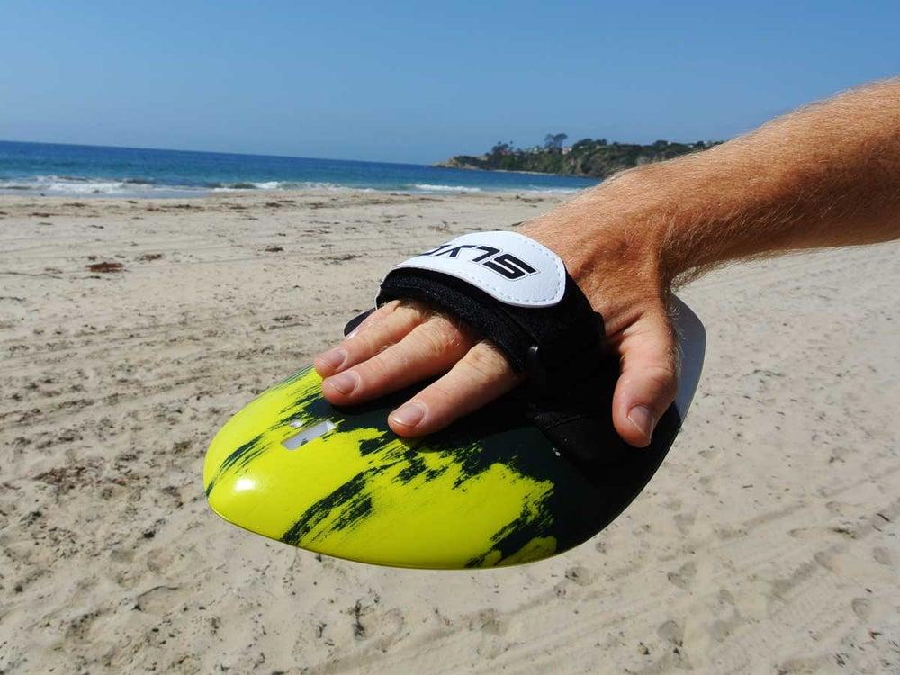 Image of The Hawaiian Bula Enoka HandBoard With GoPro Attachment