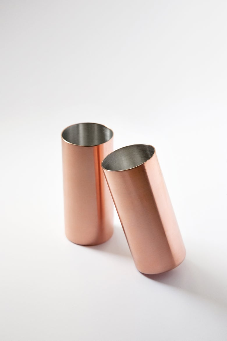 Image of Copper Tumbler (Sold as pair)