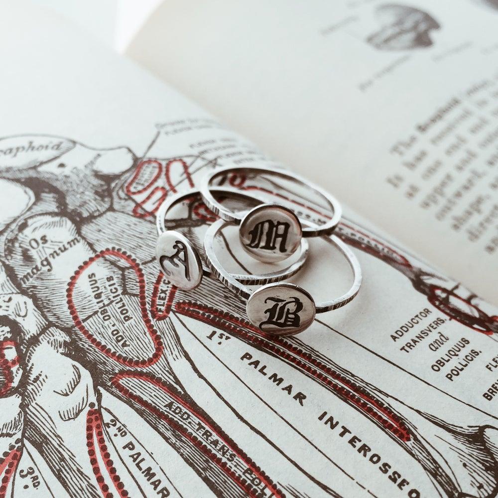Image of Blackletter Signet Ring