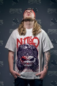 """Image of Nitro """"Suicidol"""" T-shirt white"""