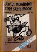 "Image of Jon J. Murakami 2015 Sketchbook (or Plan ""B"")"