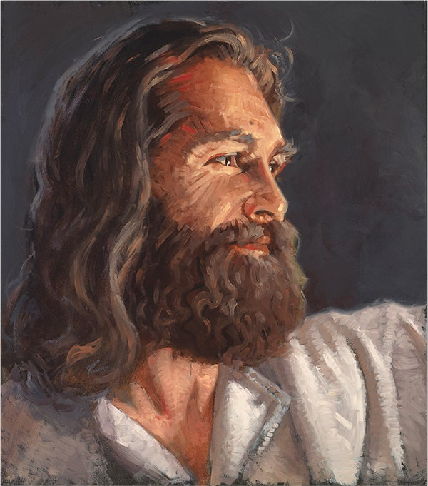 Image of Our Savior | Jesus Christ, Original Oil Painting: by Nathan Pinnock