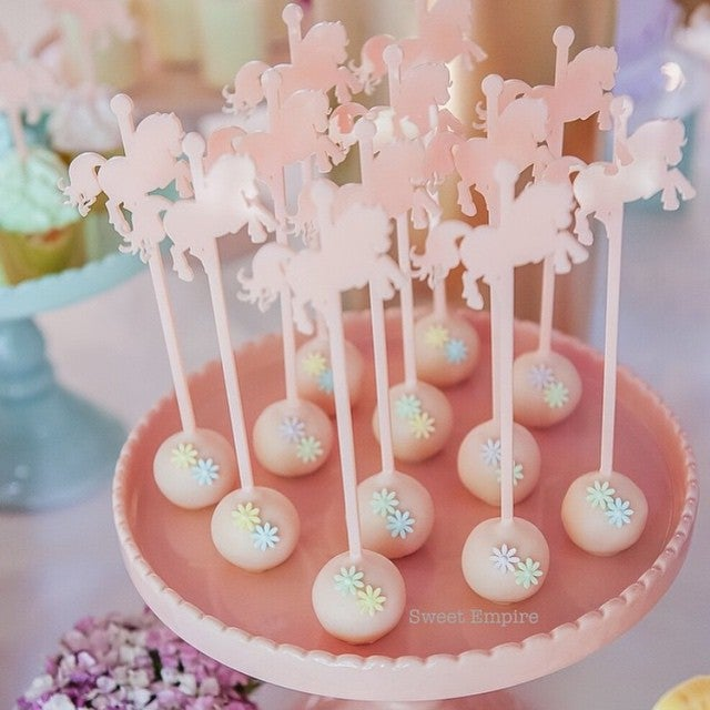 Image of Carousel Cake Pop Sticks