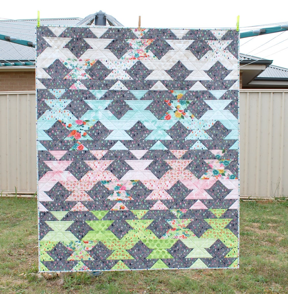 Image of New Leaf Quilt and Mini Quilt PDF Pattern